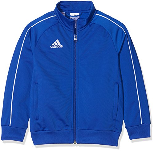 Adidas Kid's Core 18 Jacket, Blue (Bold Blue / White),5-6 years (Size Manufacturer: 116 cm) from adidas