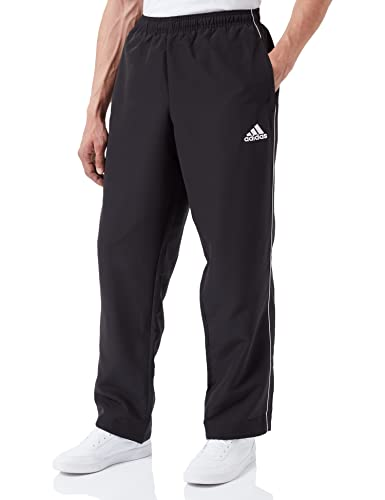 adidas Men's Core 18 Pants, Black/White, L from adidas