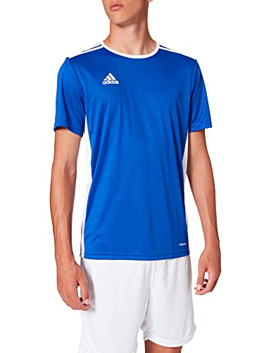 adidas Men's Entrada 18 Jersey, Bold Blue/White, 2X-Large from adidas