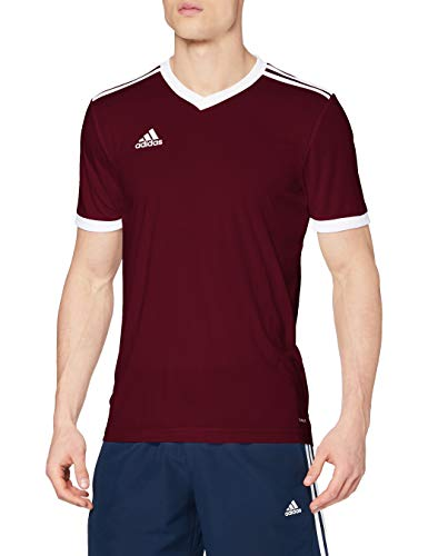 0bfa490a796 adidas Men's Tabela 18 Jersey, Maroon/White, Small from adidas