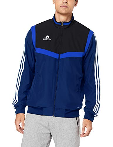 adidas Tiro19 Pre JKT Sport Jacket - Dark Blue/Black/White, M from adidas