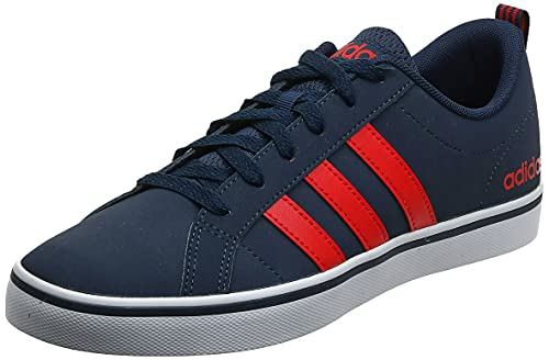 adidas Men's Vs Pace Basketball Shoes, Blue Collegiate Navy/Core Red S17/Ftwr White 11.5 UK from adidas