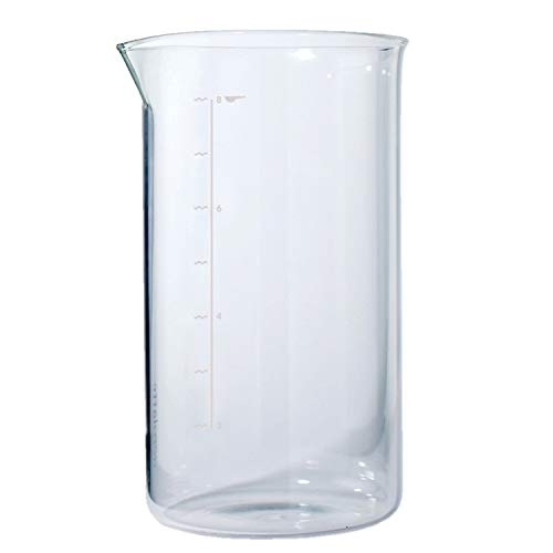aerolatte Spare / Replacement Glass Beaker / Carafe for 8-Cup / 1000 ml French Presses / Cafetières from aerolatte