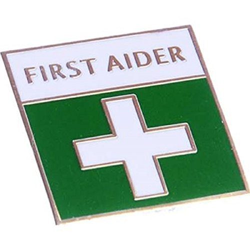 First Aid Pin Badge from bluedot