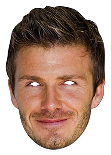 celebrity masks David Beckham Mask from celebrity masks