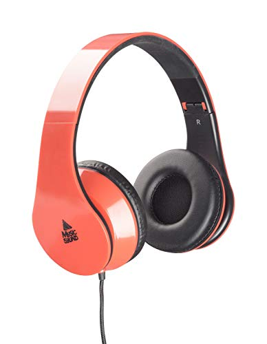 cellularline MUSICSOUNDCOLORR Headphone with Extensible Headband - Red from cellularline