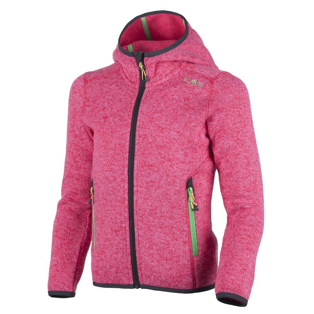 Girl Fix Hood Jacket Knitted from cmp