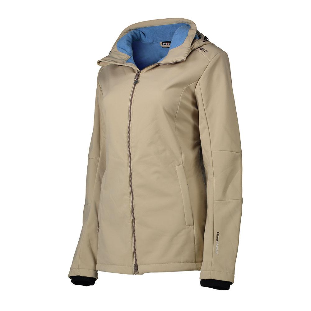 Softshell Jacket Zip Hood from cmp