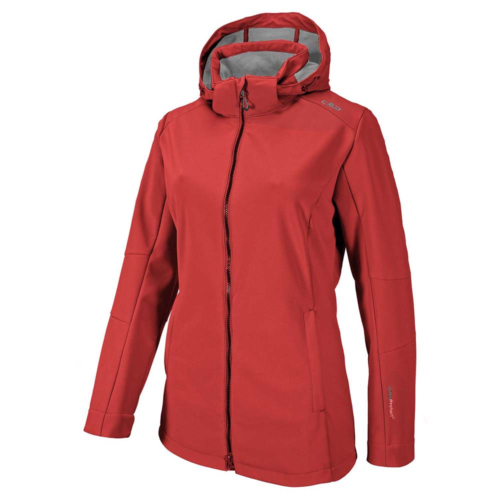 Zip Hood Comfort Fit Softshell from cmp