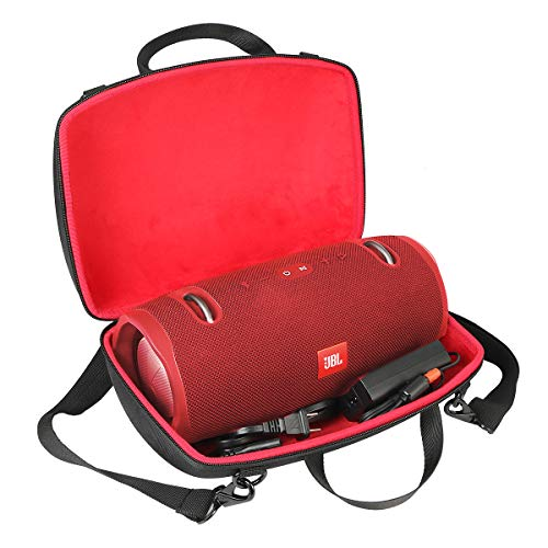 EVA Hard Case Travel Carrying Storage for JBL Xtreme/Xtreme 2 Portable Bluetooth Speaker by co2CREA (Red case for JBL xtreme 2) from co2CREA