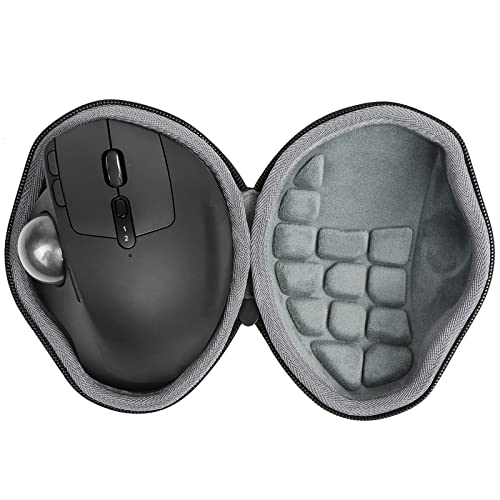 Hard Travel Case for Logitech MX Ergo Advanced Wireless Trackball Mouse by co2CREA (black) from co2CREA