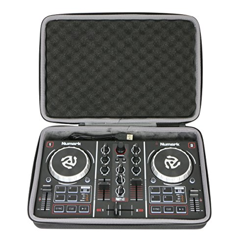 Hard Travel Case for Numark Party Mix Two-Channel Starter DJ Controller by co2CREA from co2CREA