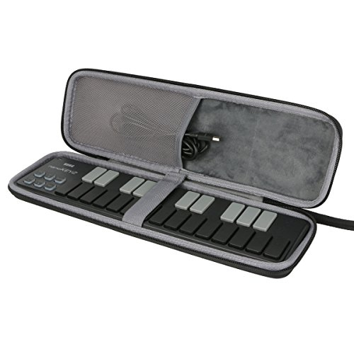 for Korg Nano Slim Line MIDI Keyboard/DJ Drum Pad/ USB Controller Hard Case fits nanoKEY2 nanoPAD2 nanoKONTROL2 by CO2CRERA from co2CREA