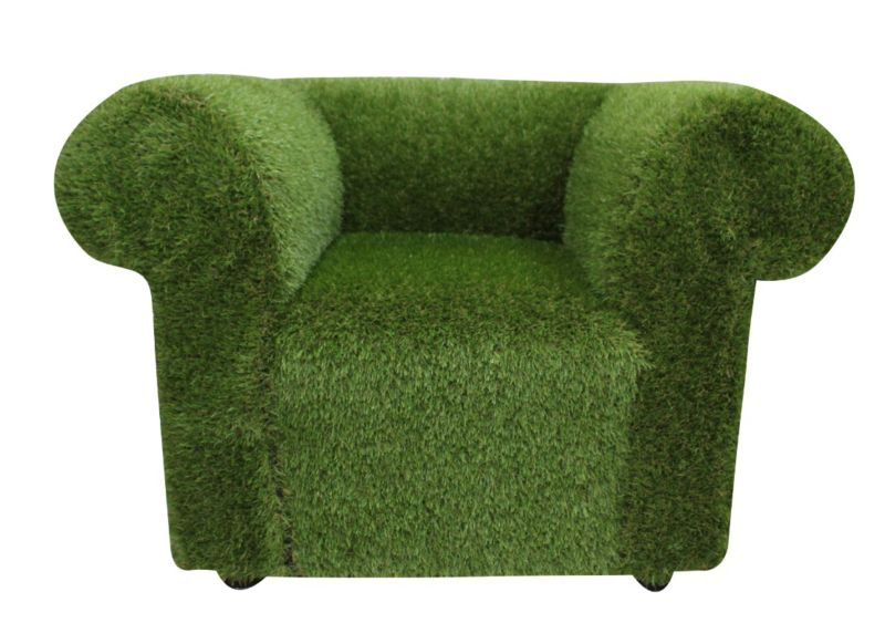 Chesterfield Artificial Grass Low Back Club Chair from designersofas4u
