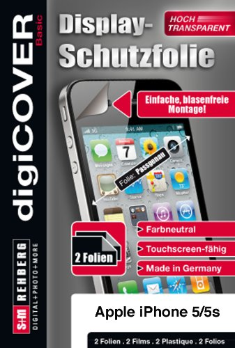 digiCOVER Basic Screen Protector for Apple iPhone 5C from digiCOVER