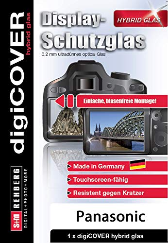 digiCOVER Hybrid Glass Screen Protector for Panasonic DMC-G70 from digiCOVER