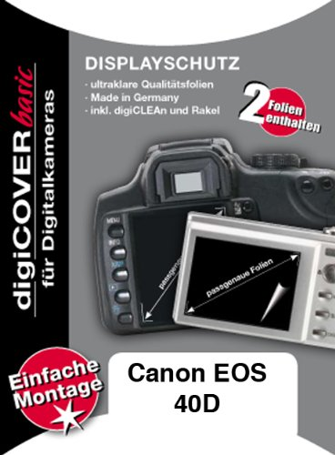 digiCOVER LCD Screen Protection Film for Canon EOS 40D from digiCOVER