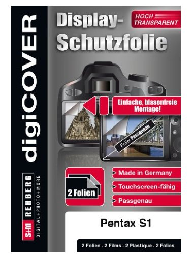digiCOVER LCD Screen Protection Film for Pentax Optio S1 from digiCOVER