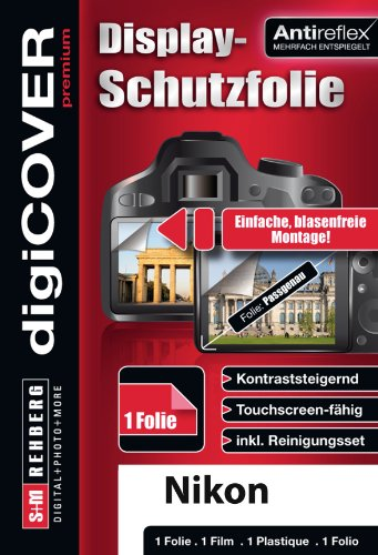 digiCOVER Premium Display Protection Foil for Nikon COOLPIX S6900 from digiCOVER