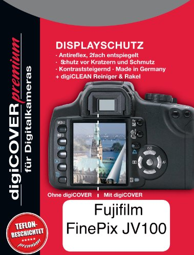 digiCOVER Premium LCD Screen Protection Film for FujiFilm for FinePix JV100 from digiCOVER