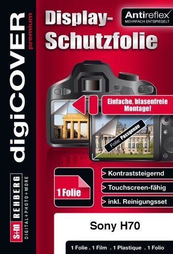 digiCOVER Premium Screen Protection Film for Sony DSC-H70 from digiCOVER