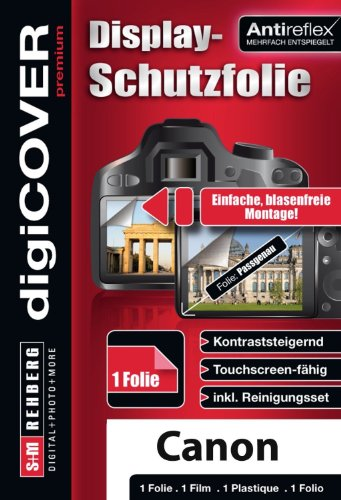 digiCOVER Premium Screen Protector for Canon PowerShot A3400 IS and A4000 IS from digiCOVER