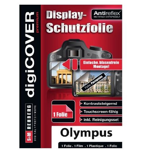digiCOVER Premium Screen Protector for Olympus Stylus XZ-10 from digiCOVER