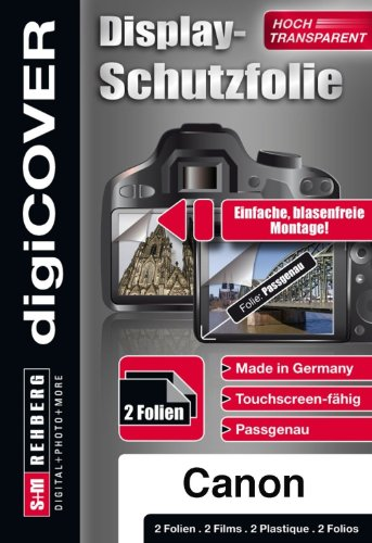 digiCOVER Screen Protector for Canon PowerShot ELPH 110 HS from digiCOVER
