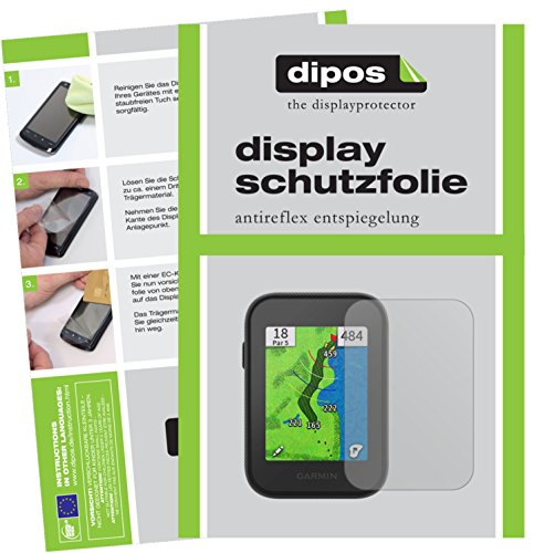 dipos I 3x Screen Protector matte compatible with Garmin Approach G30 Protection Films from dipos