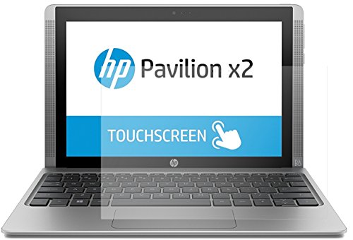 dipos I 2x Screen Protector matte compatible with HP Pavilion x2 10,1 inch Flexible Glass 9H Display Protection from dipos