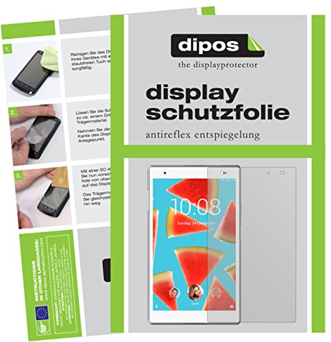 dipos I 2x Screen Protector matte compatible with Lenovo Tab4 8 TB-8504F Protection Films from dipos