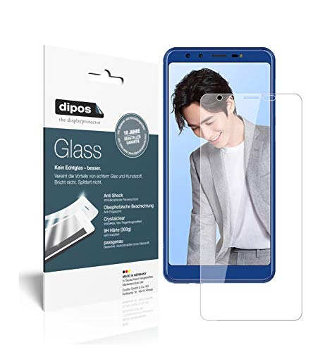 dipos I 2x Screen Protector compatible with Lenovo K5s Flexible Glass 9H Display Protection from dipos