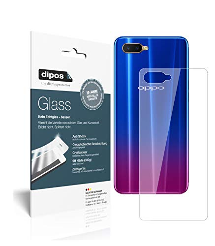 dipos I 2x Screen Protector compatible with Oppo RX17 Neo back Flexible Glass 9H Display Protection from dipos