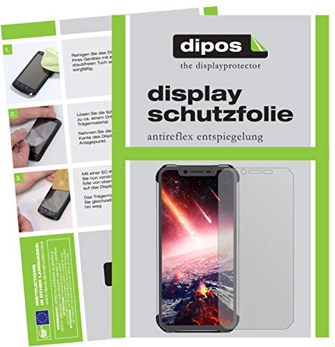 dipos I 2x Screen Protector matte compatible with Blackview BV9600 Pro Protection Films from dipos