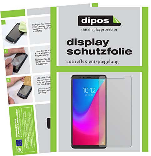 dipos I 2x Screen Protector matte compatible with Lenovo K5 Pro Protection Films from dipos