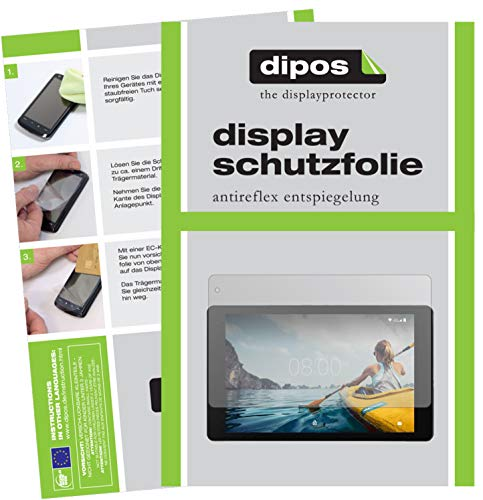 dipos I 2x Screen Protector matte compatible with Medion Lifetab P10612 Protection Films from dipos