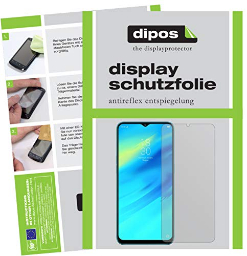dipos I 2x Screen Protector matte compatible with Oppo Realme 2 Pro Protection Films from dipos
