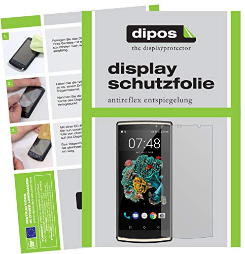 dipos I 2x Screen Protector matte compatible with Oukitel K7 Protection Films from dipos