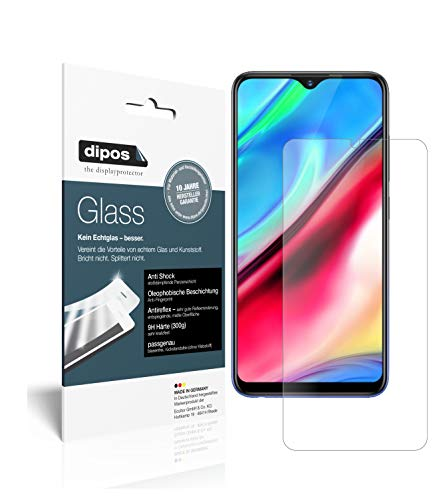 dipos I 2x Screen Protector matte compatible with Vivo Y91i Flexible Glass 9H Display Protection from dipos