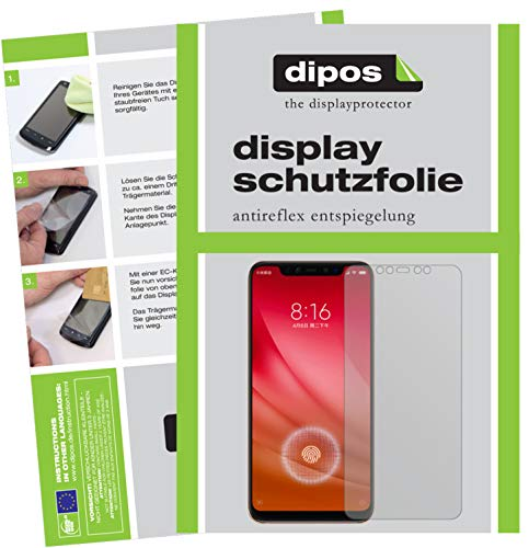 dipos I 2x Screen Protector matte compatible with Xiaomi Mi 8 Pro Protection Films from dipos