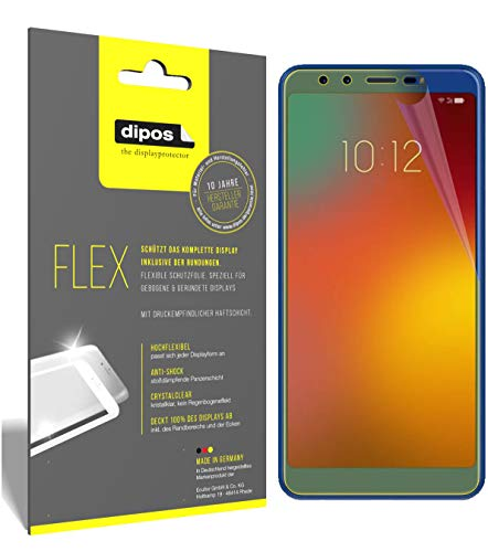 dipos I 3x Screen Protector compatible with Lenovo K9 - Covers Screen 100% - Protective Film from dipos