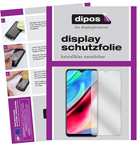 dipos I 4x Screen Protector compatible with Vivo Y91i Protection Films clear (2x front + 2x back) from dipos
