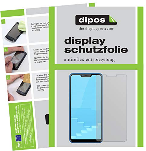 dipos I 4x Screen Protector matte compatible with Oppo Realme C1 Protection Films (2x front + 2x back) from dipos
