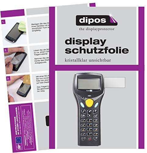 dipos I 6x Screen Protector compatible with Cipherlab 8300 Protection Films clear from dipos