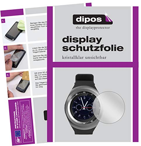 dipos I 6x Screen Protector compatible with TrendGeek TG-SW1 Smartwatch Protection Films clear from dipos