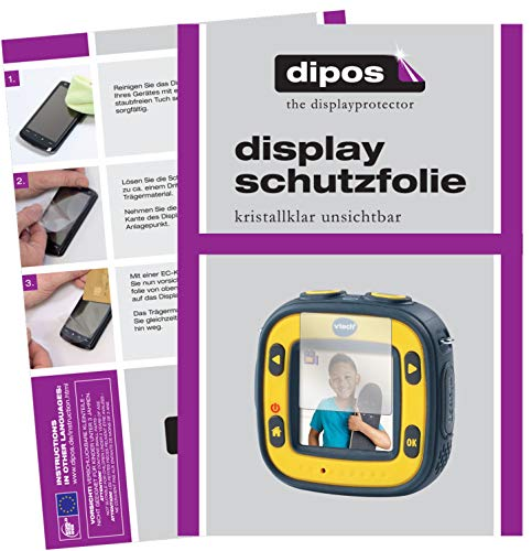 dipos I 6x Screen Protector compatible with Vtech Kidizoom Action Cam Protection Films clear from dipos