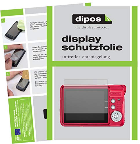 dipos I 6x Screen Protector matte compatible with AbergBest DC5100B Digitalkamera Protection Films from dipos