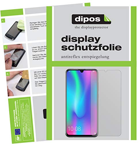 dipos I 6x Screen Protector matte compatible with Honor 10 Lite Protection Films from dipos
