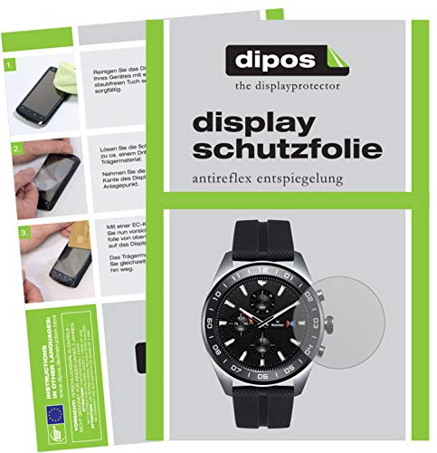 dipos I 6x Screen Protector matte compatible with LG Watch W7 Protection Films from dipos