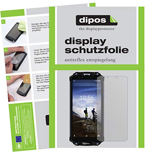 dipos I 6x Screen Protector matte compatible with Oukitel WP2 Protection Films from dipos